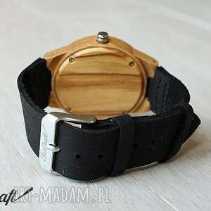 czarne zegarki zegarek damski drewniany blackbird