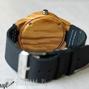 drewno zegarki niebieskie damski drewniany zegarek kingfisher