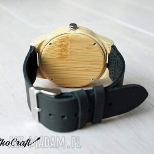 modne zegarki zegarek drewniany, bambusowy