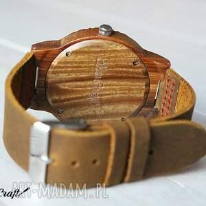 EkoCraft zegarki: drewniany zegarek falcon - ręcznie robione