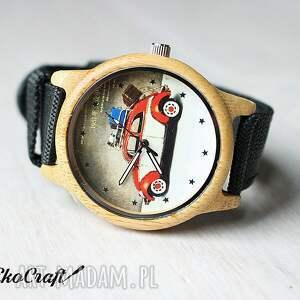 niekonwencjonalne zegarek drewniany garbus