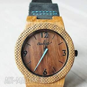 frapujące zegarki zegarek drewniany walnut eagle owl