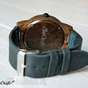 brązowe zegarki drewniany zegarek hawk