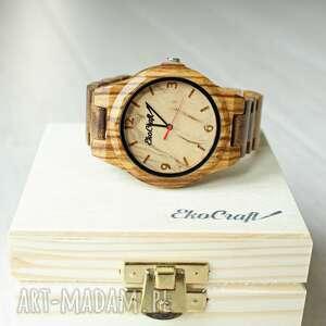 unikalne zegarki bransoleta drewniany zegarek nightingale