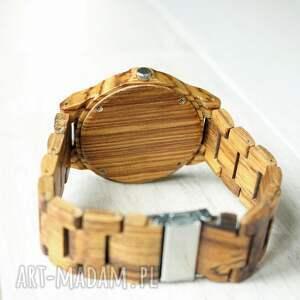 brązowe zegarki drewniany zegarek nightingale