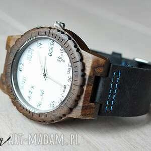 matematyka zegarki czarne drewniany zegarek mathematics hawk