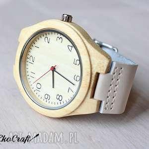 gustowne zegarki zegarek drewniany bamboo nordic