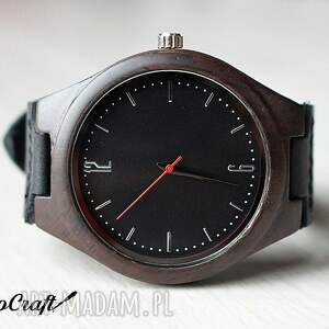 zegarki heban drewniany zegarek ebony classic