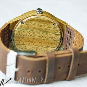 czarne zegarki drewniany zegarek sandal wood