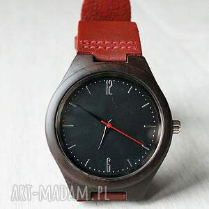 zegarki klasyczny drewniany zegarek ebony classic