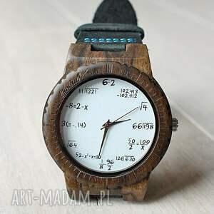zegarki matematyka drewniany zegarek mathematics hawk