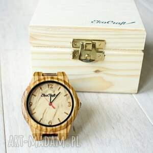 zegarki bransoleta drewniany zegarek nightingale