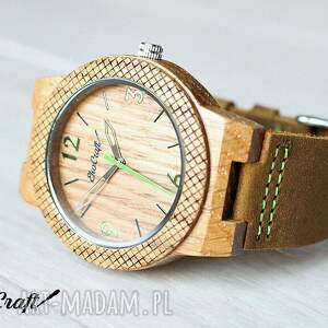 zegarki zegarek drewniany oak winter