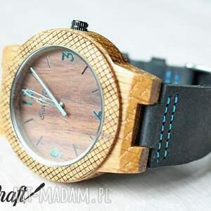 zegarek zegarki brązowe drewniany walnut eagle owl