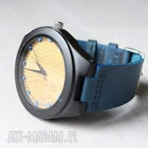 zegarki zegarek drewniany ebony zircon