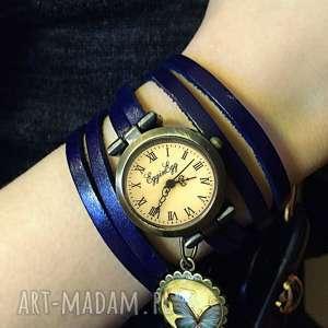 zegarek zegarki niebieskie drzewo nadziei - /