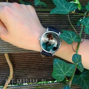 wyjątkowe zegarki drzewo życia - skórzany zegarek