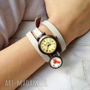 zegarek zegarki żółte hedwiga - zegarek/bransoletka