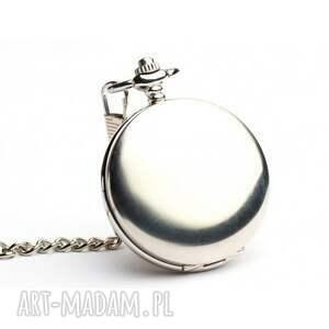 Klasyczna elegancja - zegarek na łańcuszku - dewizkowy