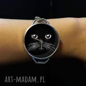 zegarki zegarek kocia mordka - z dużą