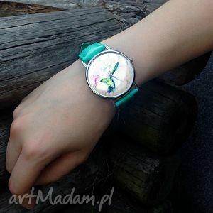 gustowne zegarki skórzany koliber - zegarek z dużą