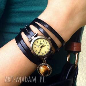 zegarek zegarki białe księżyc w pełni - /