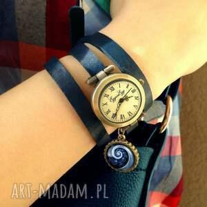 zegarek zegarki turkusowe księżycowe drzewo