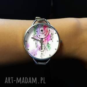 eleganckie zegarki dreamcatcher łapacz snów iii - zegarek z dużą