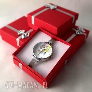 kolorowe zegarki zegarek łapacz snów i - z dużą