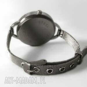 drzewo zegarki las - zegarek z dużą tarczką 0119ws