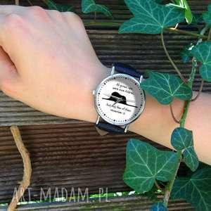 autorskie zegarki mały książę - skórzany zegarek