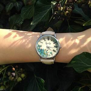 zegarki niezapominajki - skórzany zegarek