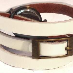 ręczne wykonanie zegarki retro róże - zegarek / bransoletka