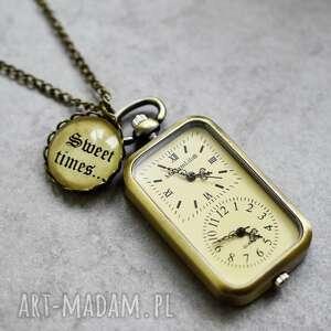 zegarki zegarek słodki czas ... brązowa