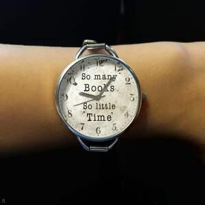 zegarki zegarek so many books - z dużą