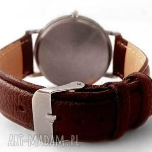 many zegarki brązowe so books - skórzany zegarek