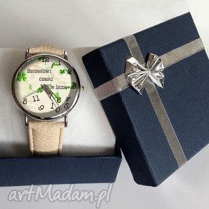 srebrne zegarki zegarek szczęśliwi czasu nie liczą