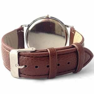 zegarek zegarki brązowe szczęśliwi czasu nie liczą