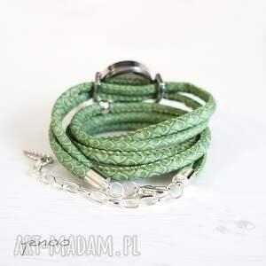 zegarki zegarek, bransoletka - zielony