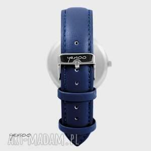 turkusowe zegarki ptaszki zegarek, bransoletka - folkowe