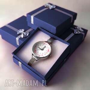 damski-zegarek zegarki zegarek damski kwiaty