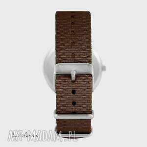 LiliArts zegarki: Zegarek - Jeleń 3 - brązowy, nato, unisex - prezent