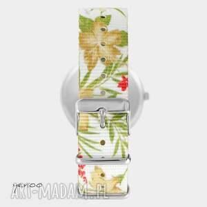 oryginalne zegarki zegarek - kawa i wino - kwiaty