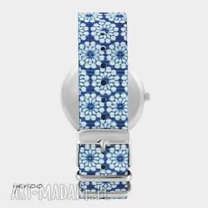 oryginalne zegarki zegarek - pszczoła - niebieski