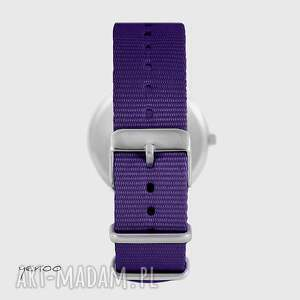 awangardowe zegarki zegarek - serce folkowe, czarne