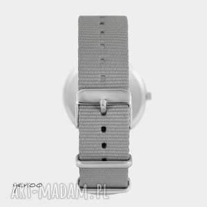 wyraziste zegarki zegarek yenoo - geometric szary