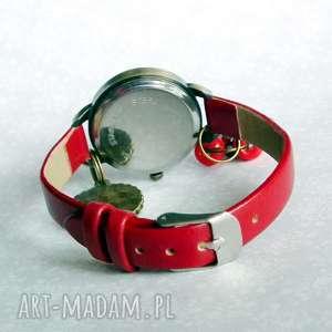 kolorowe zegarki na-rękę zegarek z mandalą :: modny