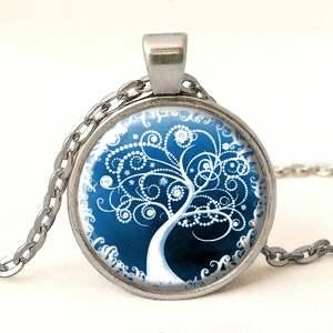 zegarek zegarki zimowe drzewo - /