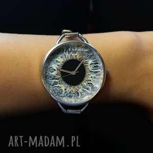 zegarki źrenica - zegarek z dużą tarczką