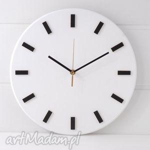 ręcznie robione zegary zegar bezgłośny scandi clock